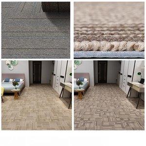 Antiusura addensare PVC fai da te Carpet 19.7 * 19.7inch Piazza Durable giuntabili Home Office Carpet Ingegneria Commercial Hotel Carpet DH1186-12 T03