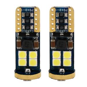 10X Haute qualité T10 CANBUS 12SMD 3030 LED Blanc Côté De Voiture Ampoule T10 Canbus Sans Erreur w5w 194 168 Led style de voiture