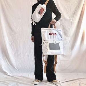 브랜드 뉴 NASA 배낭 국기 디자이너 배낭 남성 여성 디자이너 가방 남녀 학생 가방