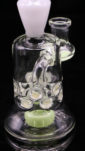 9'' HOT SELL NEW DESIGN GLASS BONG 9 inches height 14mm joint size mini dab rig smoking oil rig mini bubbler