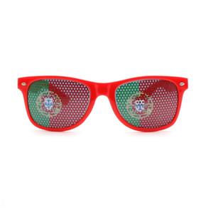 Бар Party Fan Солнцезащитные очки World Cup очки Национальный флаг солнцезащитные очки Стикер очки 36 цветов по желанию