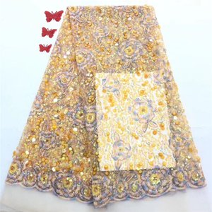 elbise PAN176 için şık düğün / parti Fransız net dantel kumaş güzel tül malzeme (5yards / lot)