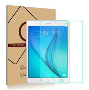 Para la pantalla del iPad Protector de la tableta vidrio templado para el iPad Samsung Tad pro 8.4 T350 / T355 / P350 Protector de la película con la caja al por menor