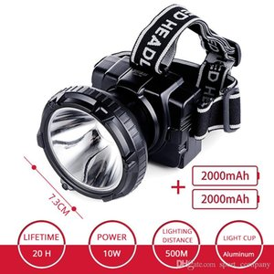 Working LED Headlamp Rechargeable Head Lamp Waterproof Headlight Hunting Lights Car Repair Lamp Headlamp with Charger Box