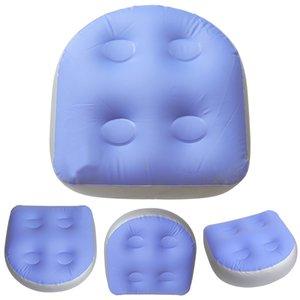 Hot Tub Zurück Inflatable Sitzerhöhung Spa-Kissen-Auflage Badewanne Kissen Massage-Matte Soft-Relaxing