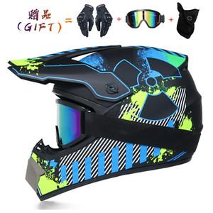 2020 Off-road da motocicleta Capacete Homens Mulheres Motocross capacete full face Downhill Casque Moto Cruz Enfant Capacete Accessorios