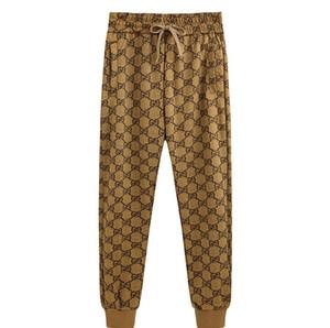 Pantaloni primavera e autunno Streetwear Nebbia Pantaloni laterali Zipper Pantaloni da uomo Designer Uomo Pantaloni da jogging Pantaloni Fear Of God