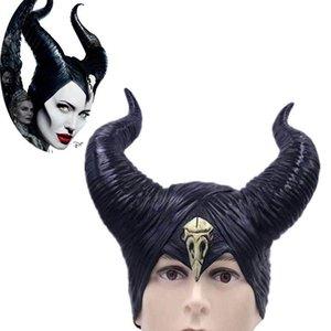 Новый реквизит корова Рог маска ведьма Хэллоуин шляпа корона украшения день рождения шляпа аксессуары ведьма цирк