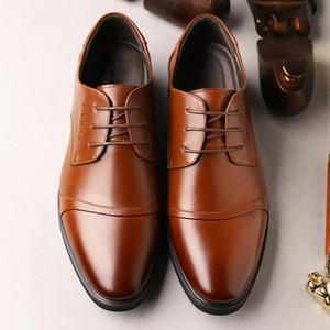 Herren Lederschuhe formale Mann Monk Schuhe Oxford für Männer Brautkleid Leder Doppelschnallen große Größe rt67