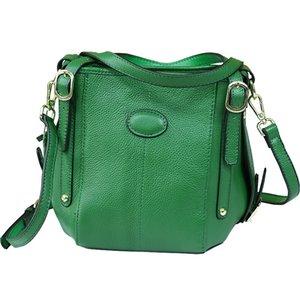Individual2019 Barrel Tide Die Ma'am Handtasche aus echtem Leder Rindsleder Einzelschulter Messenger Woman Package