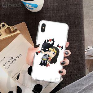 2020 caja del teléfono de Marvel Demir Adam Batman TPU suave para el iPhone 11 Pro XS MAX 8 7 6 5 6S Plus X 5S SE XR cubre al por mayor