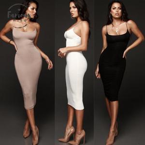 vestiti della donna Slim Breve Midi partito del vestito di buona qualità della moda di New Donne Vestito aderente Clubwear Pencil
