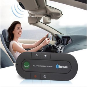 100 pcs Handsfree Bluetooth Car Kit Wireless Vehicle Receiver Bluetooth for Car