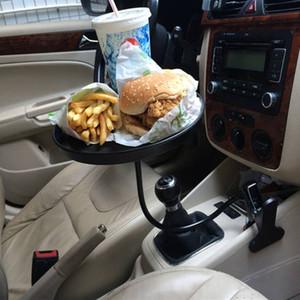 Araç Kupa Tutucu Kahve French Fries Burger için Organizatör Aksesuarlar Ayarlanabilir Tepsi Otomobiller Tablo Şişe Drink
