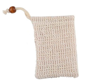 9 * 14 cm Fazendo Bolhas Soap Saver Sack Sabão Bolsa De Armazenamento De Sabão Saco de Cordão Titular Fontes de Banho Suprimentos de Banho de Higiene