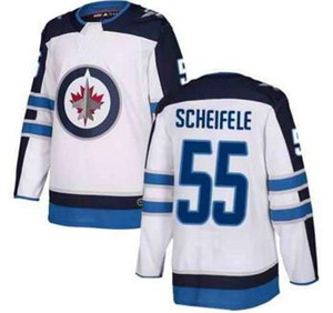 Winnipeg Jets mens Blu Navy Home hockey maglie, negozio online vendita, 55 Sceifele 33 Byfuglien 29 26 Wheeler White Road hockey wear