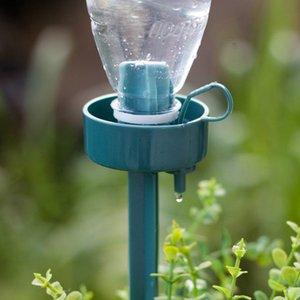 2pieces / 부지 자동 급수 관개 장비 시스템 27cm 관엽 식물 스포이드를 들어 화분 에너지 절약 환경