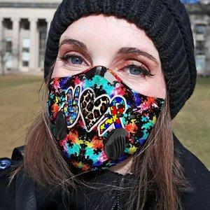 3D Маска Autims фильтр активированный уголь Pm 25 Fm маски Маска для лица tapabocas con filtro de carbono дыхательный клапан маски зажим для носа