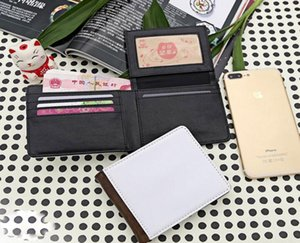 With Blank Sublimation Thermal Printing Man Single Sids Wallet Transfer 3pcs 2021 Purse Knrlj