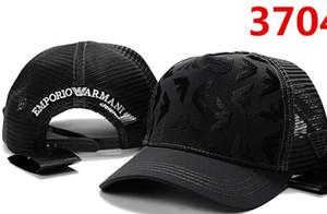 Высококачественные модные головные уборы AX Марка Сотни Ремешок Задняя кепка Мужчины Женщины Кость Snapback Регулируемая панель Изогнутый Casquette golf sport baseball Cap