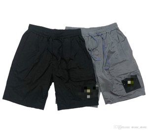 20ss mais boas novas mens clássico da moda primavera verão trabalhar calções costura detalhes perfeitos nylon reflexiva shorts treinamento para