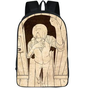 Vinsmoke Sanji backpack One piece daypack Lovely fans schoolbag Cartoon picture print rucksack Sport school bag Outdoor day pack