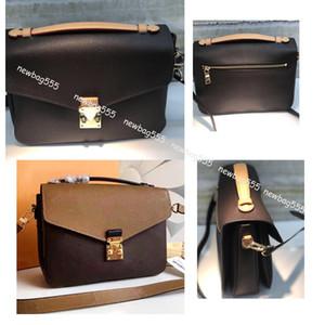 Frauen heißen Designer-Handtasche Umhängetasche Oxydierungsleder POCHETTE metis elegante Schulterbeutel diagonale Shopping-Taschen Handtasche Kupplungen 40780