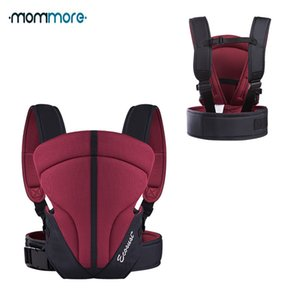 Mommore anteriore traspirante Carrier con cintura in vita per 3-14 mesi Infant Sling Backpack Baby Wrap Pouch Kangaroo Q190529