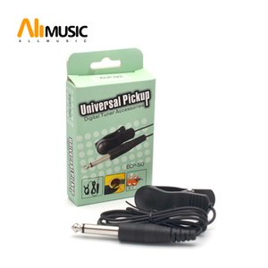 10PCS Acoustic Guitar Clip-line Pick up Pickup Cable Built-in Vibration Sensor With 6.35 Jack