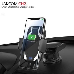 JAKCOM CH2 Smart Wireless Car Charger Mount Holder Vendita calda in caricabatterie cellulare come gadget di computer portatile di aspirazione titolare di auto