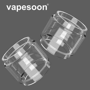Autêntico VapeSoon Gordura Tubo De Vidro Bolha Para Advken DarkMesh Subohm Tanque Tanque OWL MANTA MTL CP TF RTA etc Transporte Rápido