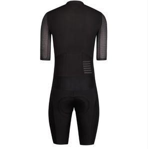 maglia 2019SENDIYOU.FS Tinta unita Triathlon Speeduit Ciclismo Skinsuit Full-Zip con maniche Trisuit All Out Speedsuit Maillot Ciclismo Abbigliamento