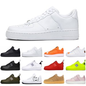 2020 dunk low 1 running shoes men women new utility triple white black dunks one skateboard platform mens trainers sports sneakers runners