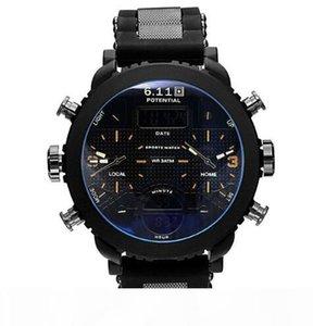 2018 sub wristwatch Watch Sport Quartz Men Wristwatches Quartz Black Led Digital Sport Watch Men Relogio Masculino