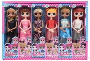 11 pollici con aroma fruttato PVC Kawaii Giocattoli per bambini Anime Action Figures Realistici bambole rinate Regalo per ragazze 6 stili 12 pezzi / scatola