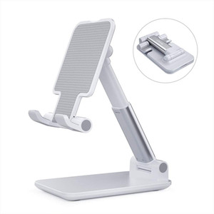 Adjustable Phone Holder, Essager Foldable Tablet Stand Mobile Phone Mount for Desk Compatible with Samsung Galaxy ipad Mini All Smartphone