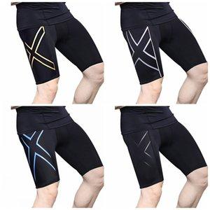 Casual Run justas calças cor preta geométrica Impressão magros Formação Sports calças Carta Splice Legging Mens Womens Apparel 31 98df E19