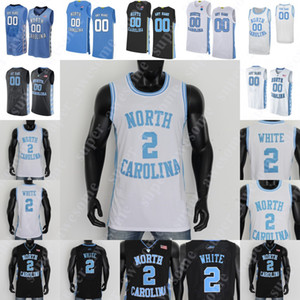 NCAA North Carolina Tar Heels Basketball Jersey Cole Anthony Garrison Brooks Coby Branco Leaky Preto Armando Bacot Francis 50 Hansbrough