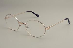 2019 새로운 울트라 라이트 라운드 복고풍 안경 1188008-1 패션 남성과 여성 장식 안경 프레임