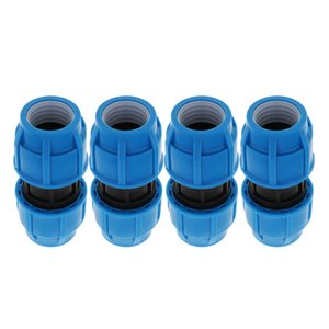 4pcs Water Tube Fittings Garden Hose Connector 0-0.6MPa Plant Watering Tools