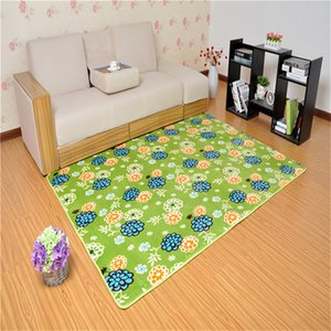 Hot Anti-skid thickening Coral Fleece Carpet for Living Dining Bedroom home decor floor carpet size 40*60 50*80 60*90 80*120cm