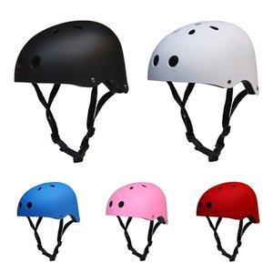 Round Mountain Bike Casques de sécurité pour adultes Enfants Sport Vélo de route Casque de vélo VTT Vélo Anti-choc Escalade Trail Casque