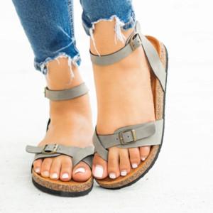 Women Sandals Plus Size Wedges Shoes For Women Buckle Sandals Summer Shoes 2020 Flip Flop Chaussures Femme Platform Sandals Girl