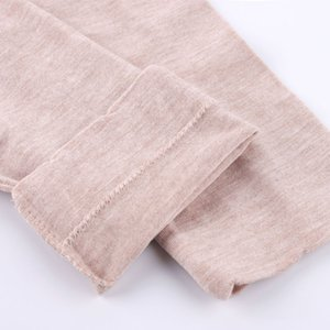 Spring autumn winter Ladies Cotton Sweater T-shirt collar sleeves all-match slim outer wear long sleeved johns thermal underwear