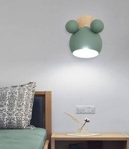Moderno, Metal LED Macaron Wall Lamp Villa Hotel Home Sala de cabeceira quarto arandela WA218