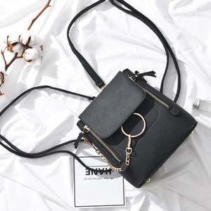 Solido Colore Piccola borsa sacchetto multifunzionale dello zaino signore CHISPAULO Moda 2020 Saling caldo Primavera Estate