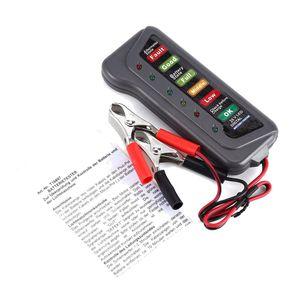 6 24V Car Digital Battery Alternator Tester 6 LED Lights Display Diagnostic Tool Alternator Auto Battery Analyzer #30