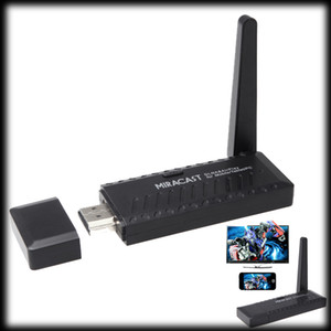 من قبل شركة دي إتش إل أو نظم الإدارة البيئية 100pcs التي عرض Miracast واي فاي دونغل استقبال 1080P HDMI لاسلكي IPUSH البث DLNA