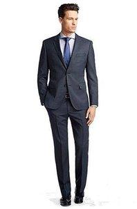 새로운 슬림 맞는 사이드 벤트 신랑 턱시도 남성 비즈니스 코트 남성 정장 저녁 파티 정장 (재킷 + 바지 + 넥타이) XF248