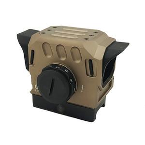 Taktische DI EG1 Optische Red Dot Reflexvisier 1.5 MOA Holographisches Zielfernrohr für 20mm Schiene Jagd Zielfernrohr